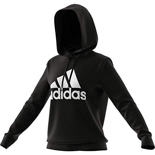 adidas GM5514 W BL FT HD Sweat Womens Black/White M