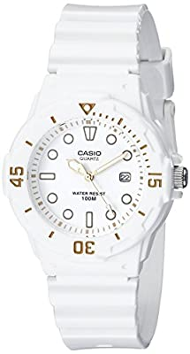 Casio Women's LRW200H-7E2VCF Dive Series Diver-Look White Watch by Casio