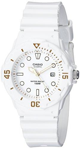 Casio LRW200H-7E2VCF Taucheruhr für Damen, Weiß