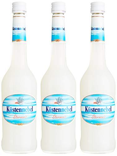 Küstennebel (3 x 0,5 l) Marken - Spirituose aus dem Hohen Norden mit feinem Sternanis