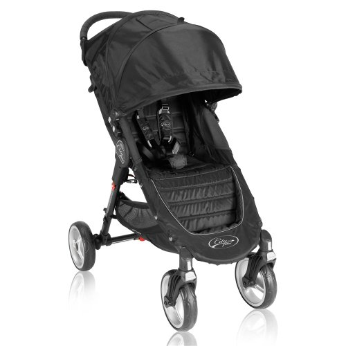 Baby Jogger City Mini 4 Wheel Single Stroller - Black