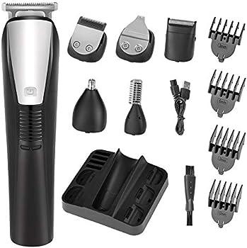Roziaplus 6 in 1 Waterproof Mens Grooming Kit