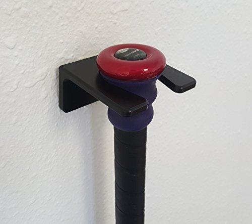 Grip-N-Rip Aluminum Single Bat Rack