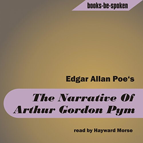The Narrative Of Arthur Gordon Pym audiobook cover art