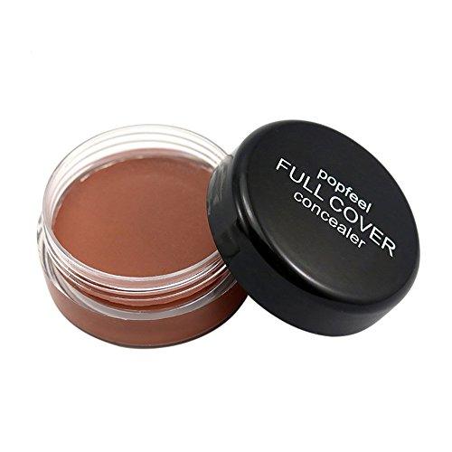 LQQSTORE Concealer Flawless Make-up Concealer Popfeel Face Make Up Concealer Foundation Palette Cremig Feuchtigkeitsspendend