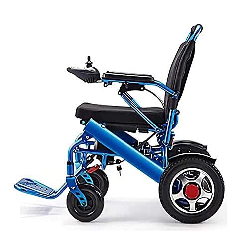 WXDP Autopropulsado Scooter de Movilidad Personal con Silla Inteligente portátil, Ligera y eléctrica Plegable, Compatible con 400 LB