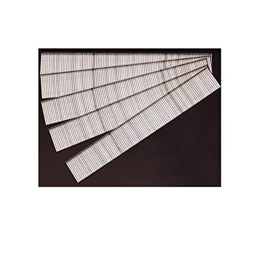 Wnuanjun 10/15/25/20/30mm F10 / F15 / F20 / F25 / F30 Straight Brad Nagel Pins für Home/Garten- und Heftklammerwaffen Silber (Größe : F25 2500PCS)