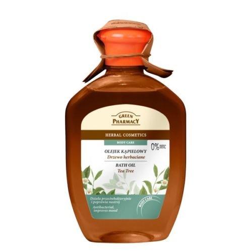 GREEN PHARMACY Badeöl 2in1 Duschgel mit Teebaumöl ohne Parabene 250ml