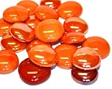 Glass Mosaic Tile Nuggets Orange Mix Rounded Gems by <span class='highlight'>Hobby</span> <span class='highlight'>Island</span> <span class='highlight'>Mosaics</span>
