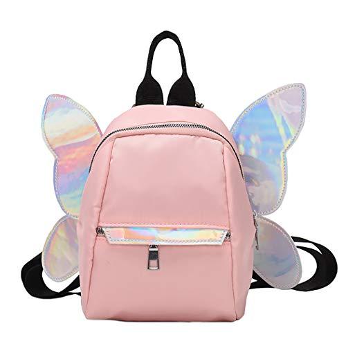 Bageek Girls Backpack Small 3D Butterfly Wings Backpack Ladies Rucksack Casual Backpack