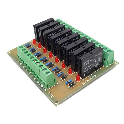 lifebea 12 V Stromversorgung, 8 Kanäle, Solid-State-Relais-Modul, Steuerfeld-Modul, DC 24 V, NPN, Xbox One Netzteil