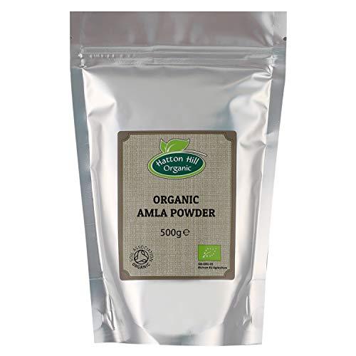 Bio Amla Pulver 500g von Hatton Hill Organic – BIO zertifiziert
