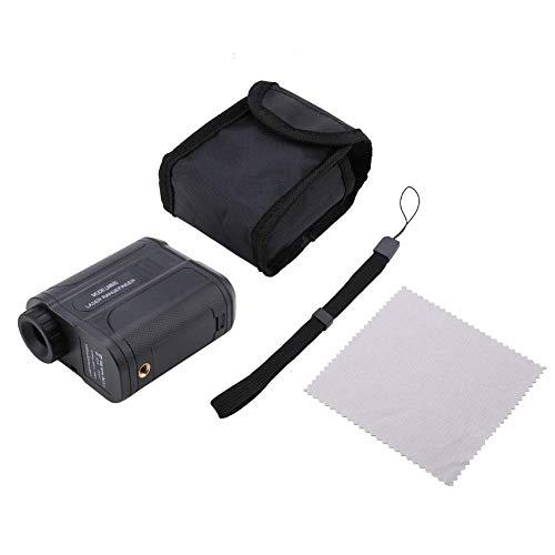Präziser Entfernungsmesser-Laser-Entfernungsmesser, LM600 6X wasserdichtes Golf-Teleskop-Laser-Entfernungsmesser-Entfernungs-Höhen-Geschwindigkeitsmesser(Schwarz)