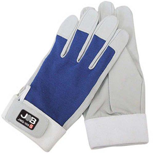 ジョブマスター ワーキンググローブ 洗える革手袋 JWG-100