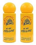 Chennai Super Kings Fragrance Body Spray, 175 Ml (Pack Of 2)