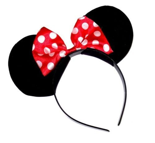 Oreilles de Minnie mouse fancy dress Bandeau disney Déguisement oreilles de souris