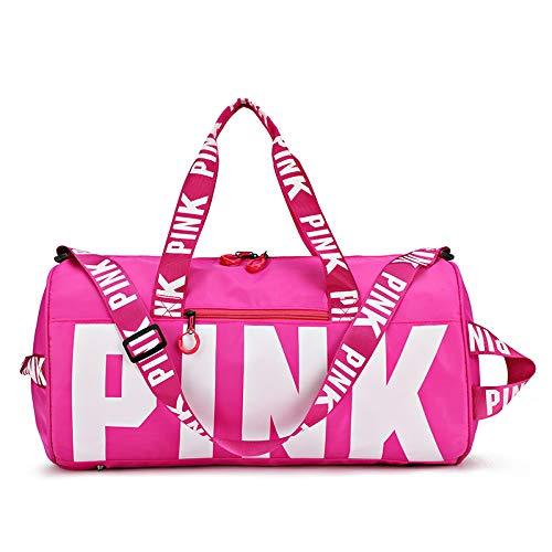 Pink Women gym bag