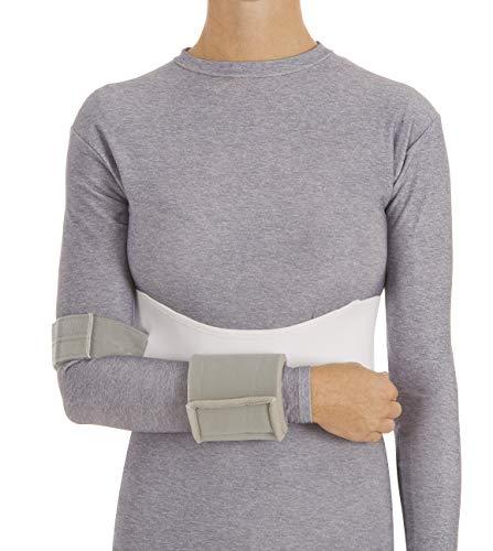 United Ortho 3352-03 Women's Elastic Shoulder Immobilizer, Large, White