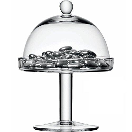 LSA International di Vienna 15 cm-Alzata per dolci con campana trasparente