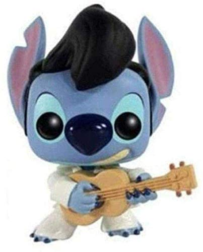 zzj Pop: Lilo & Stitch Elvis Stitch Exclusive # 127 Collectable Figure from Anime Gifts
