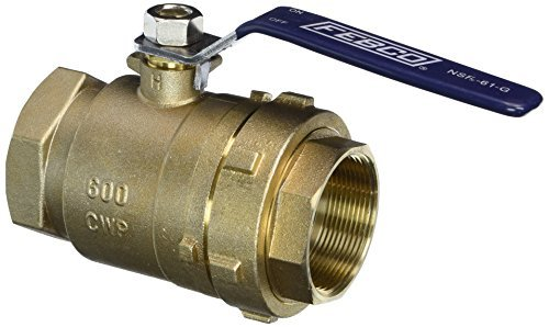 Febco 781298LL Lead Free 2 Ball Valve with Union and 1/8 Side Port by Febco
