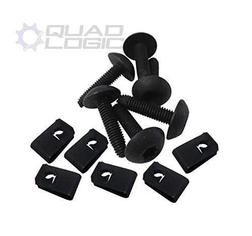 Polaris Ranger RZR General Body Panel Torx Screw and Flat Nut (Set of 6) 7519650