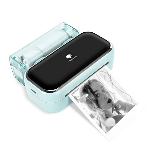 Phomemo M03 Sticky Note Printer-Bluetooth Thermal Printer Mini Printer Portable Printer, Compatible with iOS & Android, Great for memo, Journal & Plan, Green