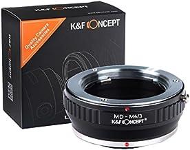 [正規代理店]K&F ミノルタ MD-m4/3マイクロフォーサーズ マウントアダプター レンズクロス付 md-m43 (KFM43)