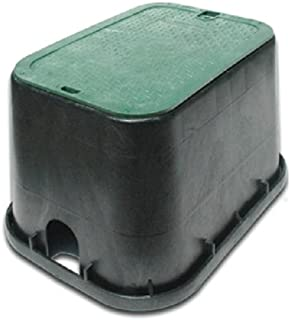 NDS, Black/Green 113BC Standard Series Valve Box Cover, 14 19-Inch, G, 14