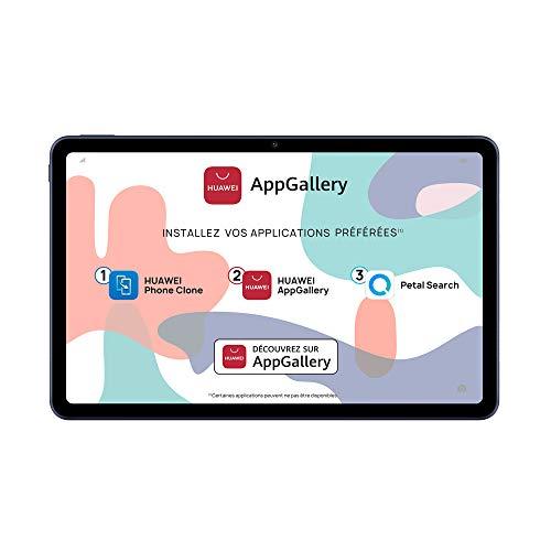 HUAWEI MatePad Wi-Fi Tablette Tactil Ecran FullView de 10.4, Processeur Kirin 810, Batterie de 7250mAh, 32Go, 3Go de RAM, Quatre haut-parleurs, EMUI 10.1 & AppGallery, Gris
