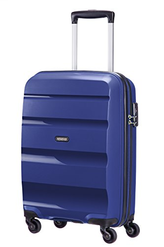 American Tourister Bon Air-Spinner S Strict Bagaglio a Mano, Polipropilene, Midnight Navy, 30 litri, 55 cm