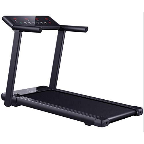 F-treadmill Caminadora Pequeño Libre De La Instalación Cubierta Ejercicio Corriente De Aparatos De Ejercicios Completa Plegable 1-14Km / H 3.5HP Ajustable Silenciosa Rodamiento del Motor 100 KG