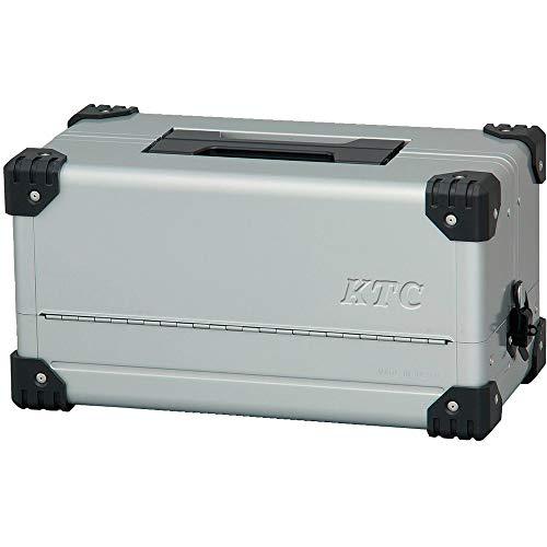 京都機械工具(KTC) 両開きメタルケース メタリックシルバー EK-10A (SK SALE 2020)