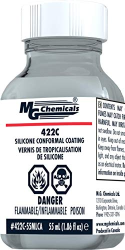 MG Chemicals - 422C-55MLCA 422C Silicone Conformal Coating 55 mL Bottle