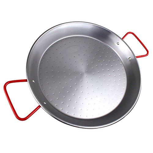 MageFesa Carbon Steel Paella Pan 15'- 8 Servings