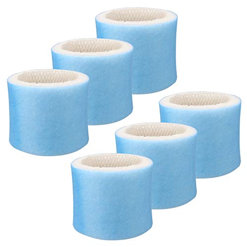 GuanQiao 6 Pack Humidifier Replacement Filter Compatible with Honeywell HAC-504 Filter A HAC-504AW HCM-300 HCM 350W HEV-300 HCM-500 HCM-630 HCM-700 HCM-2000 Series