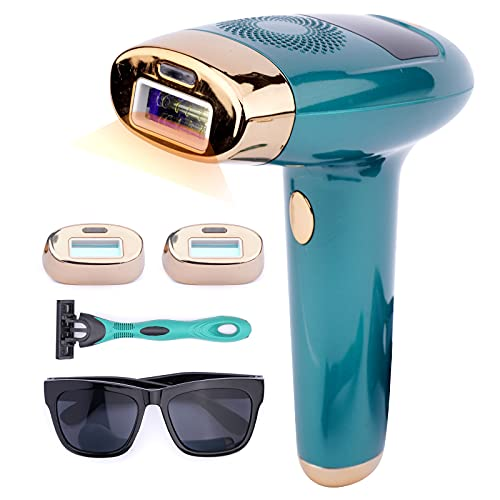 IPL Haarentfernungsgerät, 999,999 Blitze Schmerzloses Haarentfernungsgerät für den Heimgebrauch, Permanente Schmerzloses Laser Haarentfernung für Körper, Bikinizone Enthaarung