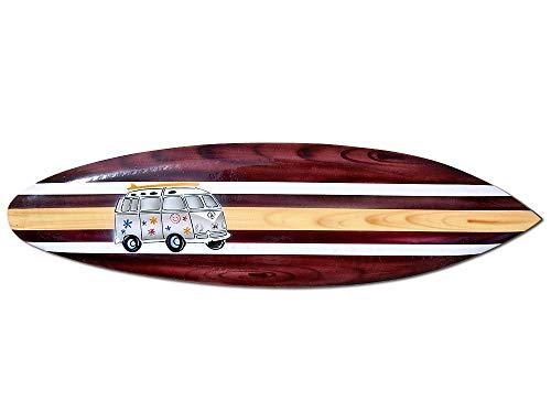 Seestern Sportswear Deko Holz Surfboard 100 cm lang Airbrush Design Surfing Surfen Wellenreiten Surf /1658