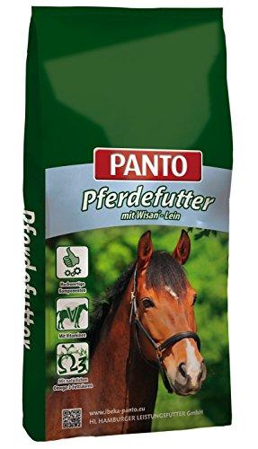 PANTO Sport Muesli voor paarden, zonder haver met Wisan Lein, wortelen, per stuk verpakt (1 x 20 kg)