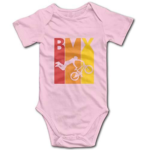 Hjqi Infant Bodysuit BMX Galaxy Baby Romper Jumpsuit