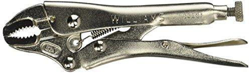 Williams 23301 Curve Locking Plier Cutter, 5-Inch
