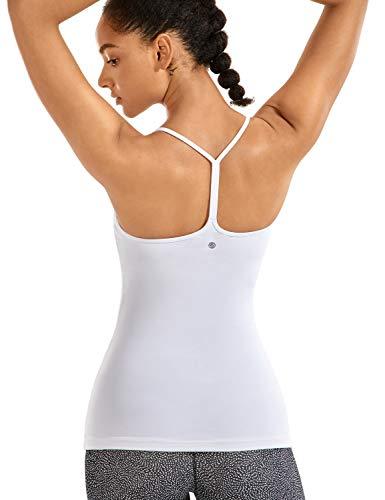 CRZ YOGA Women's Spaghetti Strap Workout Tank Tops with...