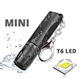CLS813 Mini LED Taschenlampe zoombar & fokussierbar - Handliche LED Leuchte mit stufenloser Fokussierung - Handlampe ideal für Camping Werkstatt Handtasche Garten Kinder Outdoor