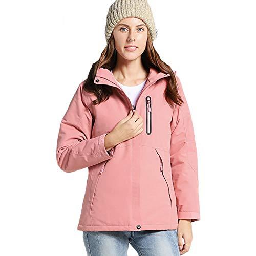 XFX1990 Outdoor winterjas waterdicht vochtbestendig waterdichte jas mannelijk effen katoen wandelen warme jas USB verwarmingsjas vrouwelijk