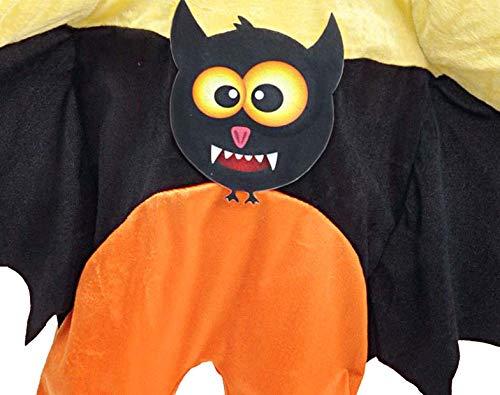 Ciao-Pipistrellino Costume Tutina Baby (Taglia 2-3 Anni), Colore Rosso,Nero, 28040.2-3