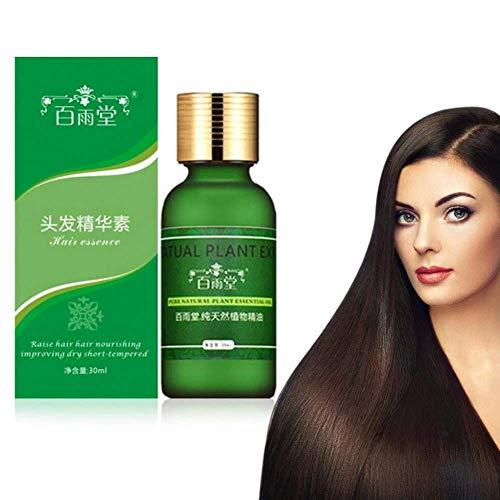 Aceite natural de la esencia del crecimiento del pelo de los hombres y de las mujeres, líquido de la reparación de la salud del cuero cabelludo del ginseng para la pérdida de pelo