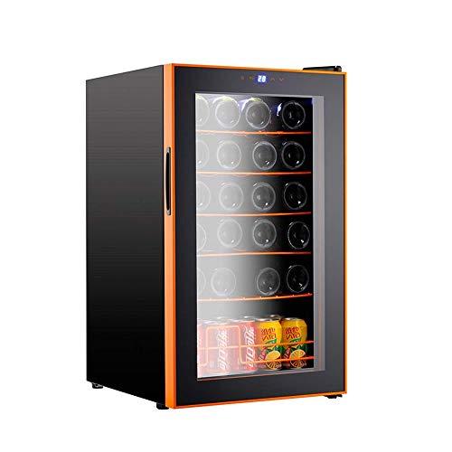 YFGQBCP Aluminio gabinete del Vino con Temperatura Digital Independiente Frigorífico Puerta de Vidrio silencioso Diseño