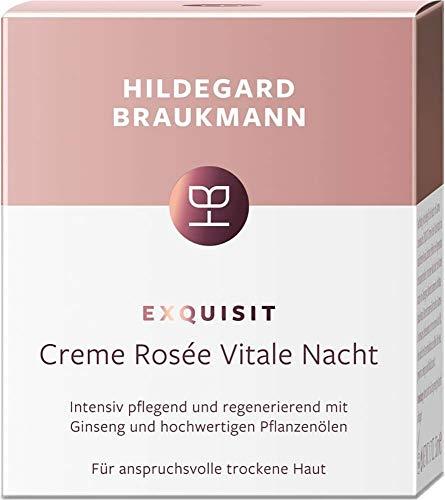 Hildegard Braukmann Exquisit Créme rosèe vitale Nacht Gesichtscreme, 50 ml