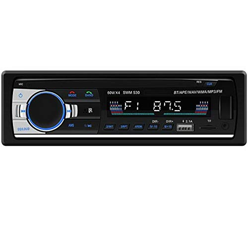 PolarLander 1 Din Dual USB Ports AutoRadio Audio MP3 Player Bluetooth Stereo FM/AUX/ISO Input Playback Auto Radio