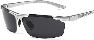 Gafas de Ciclismo Para Bicicleta Gafas de sol polarizadas de magnesio hombres rana espejo gafas de pesca al aire libre gafas de sol de imitación de aluminio ligero para Esquí Conducción Golf Correr Ci